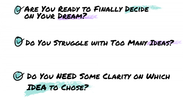 Dream & Decide Bullets